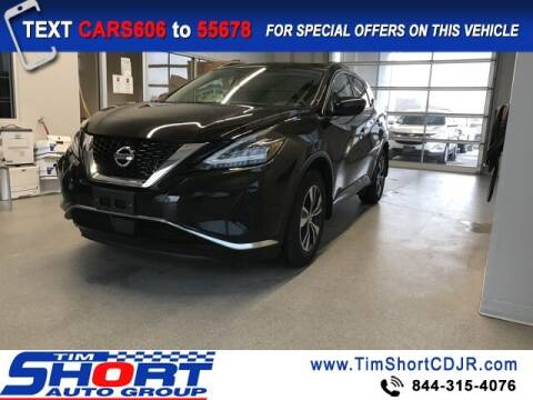 2019 Nissan Murano for sale at Tim Short Chrysler in Morehead KY