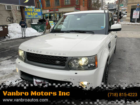 2010 Land Rover Range Rover Sport for sale at Vanbro Motors Inc in Staten Island NY