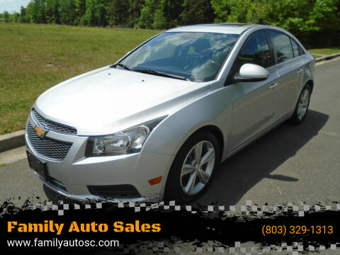 2013 Chevrolet Cruze for sale at Family Auto Sales in Rock Hill SC
