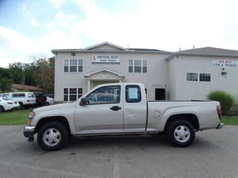 2008 GMC Canyon for sale at SOUTHERN SELECT AUTO SALES in Medina OH