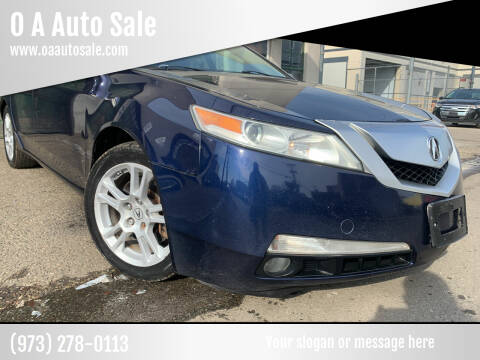 2009 Acura TL for sale at O A Auto Sale in Paterson NJ