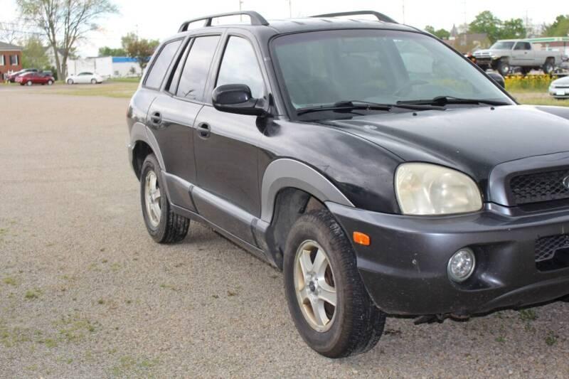 2003 Hyundai Santa Fe for sale at Bowman Auto Sales in Hebron OH