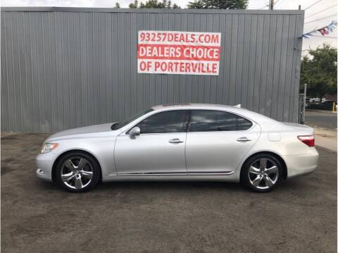 2008 Lexus LS 460 for sale at Dealers Choice Inc in Farmersville CA