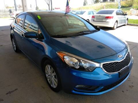 2014 Kia Forte for sale at Divine Auto Sales LLC in Omaha NE