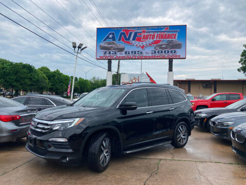 2016 Honda Pilot for sale at ANF AUTO FINANCE in Houston TX