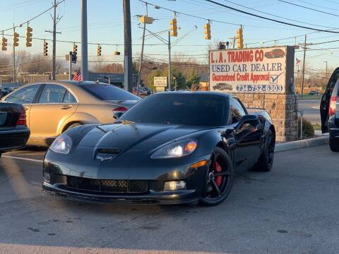 2012 Chevrolet Corvette for sale at L.A. Trading Co. in Woodhaven MI