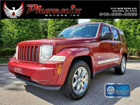 2012 Jeep Liberty for sale at Phoenix Motors Inc in Raleigh NC