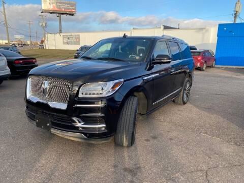 2019 Lincoln Navigator for sale at M-97 Auto Dealer in Roseville MI