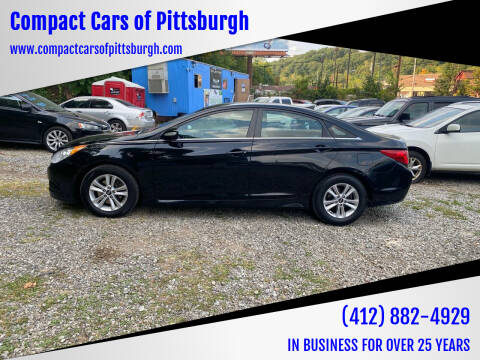 2014 Hyundai Sonata for sale at Compact Cars of Pittsburgh in Pittsburgh PA