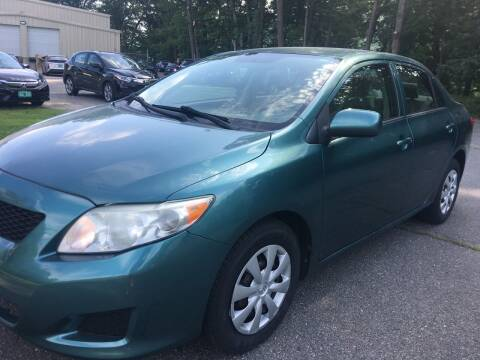 2010 Toyota Corolla for sale at BRATTLEBORO AUTO SALES in Brattleboro VT
