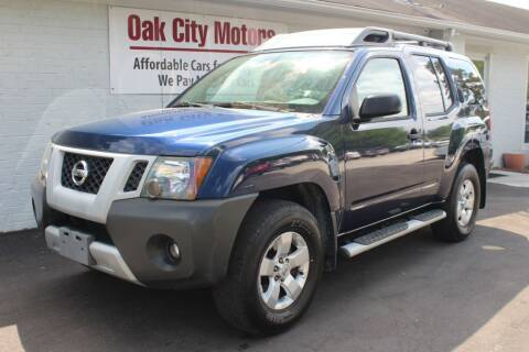 2010 Nissan Xterra for sale at Oak City Motors in Garner NC