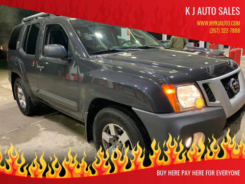 2011 Nissan Xterra for sale at K J AUTO SALES in Philadelphia PA