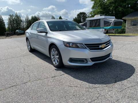 2017 Chevrolet Impala for sale at Hillside Motors Inc. in Hickory NC
