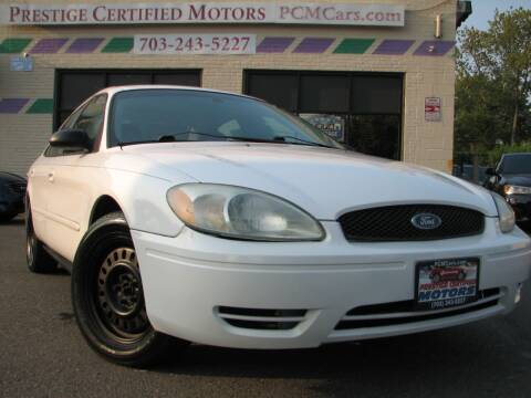 2004 Ford Taurus for sale at Prestige Certified Motors in Falls Church VA
