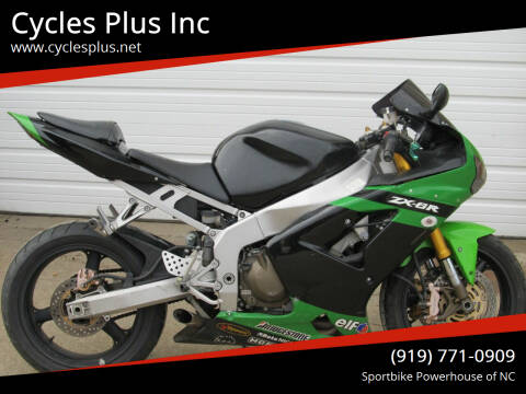 2003 Kawasaki ZX6-R 636 for sale at Cycles Plus Inc in Garner NC