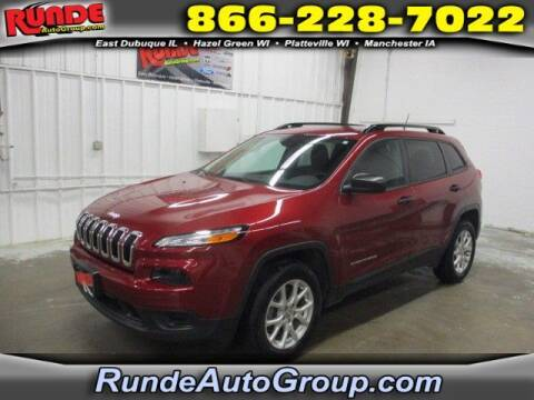 2017 Jeep Cherokee for sale at Runde Chevrolet in East Dubuque IL