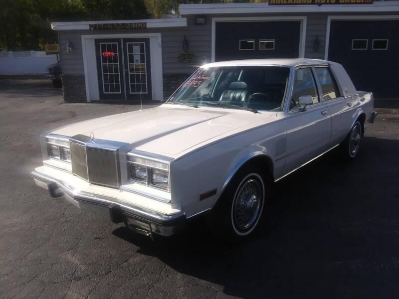 1987 Chrysler Fifth Avenue 4dr Sedan - Hanover PA
