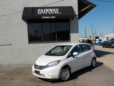 2014 Nissan Versa Note for sale at FAIRWAY AUTO SALES, INC. in Melrose Park IL