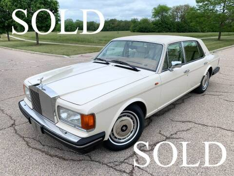 1994 Rolls-Royce Silver Spur for sale at Park Ward Motors Museum - Park Ward Motors in Crystal Lake IL