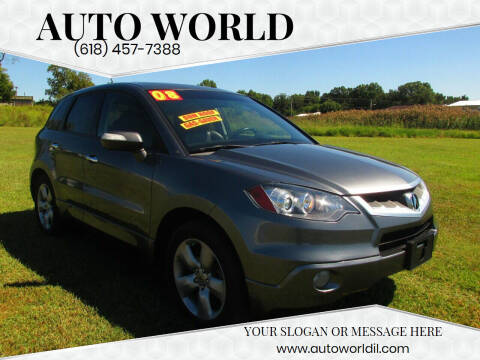 2008 Acura RDX for sale at Auto World in Carbondale IL