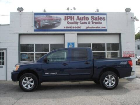 2012 Nissan Titan for sale at JPH Auto Sales in Eastlake OH