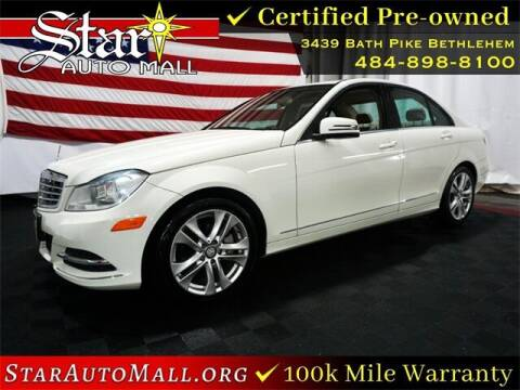 2012 Mercedes-Benz C-Class for sale at STAR AUTO MALL 512 in Bethlehem PA