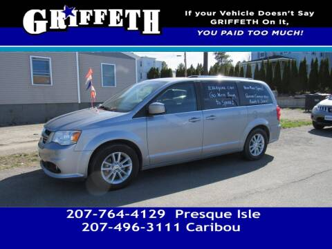 2019 Dodge Grand Caravan for sale at Griffeth Mitsubishi - Pre-owned in Caribou ME