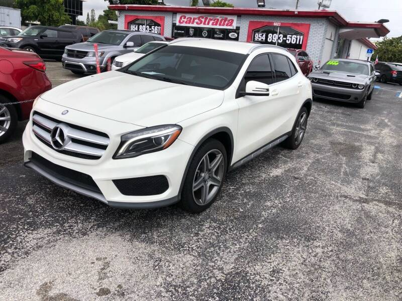2015 Mercedes-Benz GLA for sale at CARSTRADA in Hollywood FL