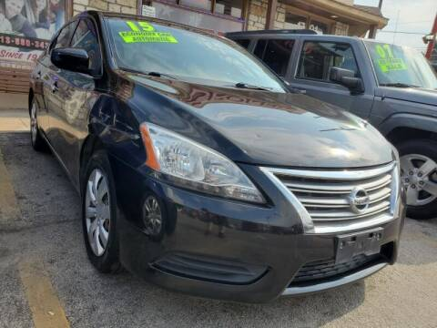 2015 Nissan Sentra for sale at USA Auto Brokers in Houston TX