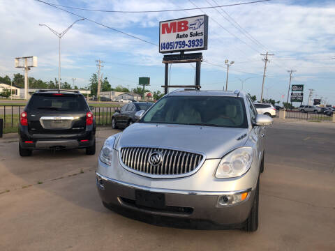 2010 Buick Enclave for sale at MB Auto Sales in Oklahoma City OK
