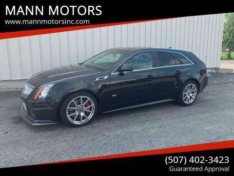 2014 Cadillac CTS-V for sale at MANN MOTORS in Albert Lea MN