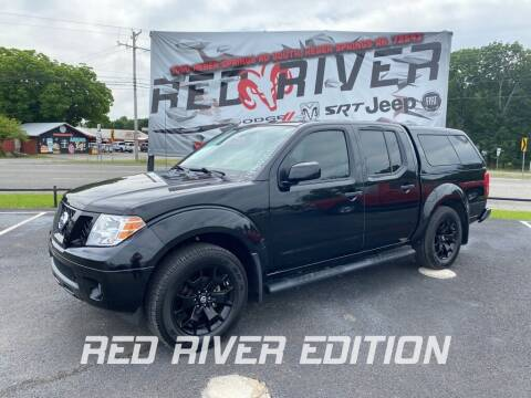 2018 Nissan Frontier for sale at RED RIVER DODGE - Red River of Malvern in Malvern AR