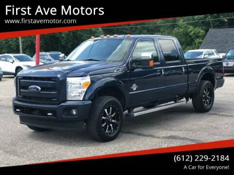 2016 Ford F-250 Super Duty for sale at First Ave Motors in Shakopee MN