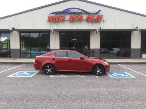 2008 Lexus IS 250 for sale at DOUG'S AUTO SALES INC in Pleasant View TN