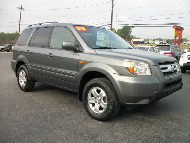 2008 Honda Pilot for sale at Lentz's Auto Sales in Albemarle NC