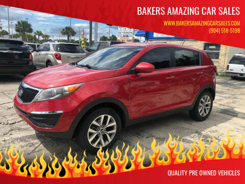 2014 Kia Sportage for sale at Bakers Amazing Car Sales in Jacksonville FL