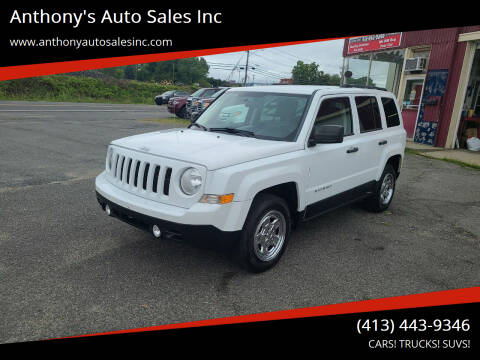 2011 Jeep Patriot for sale at Anthony's Auto Sales Inc in Pittsfield MA