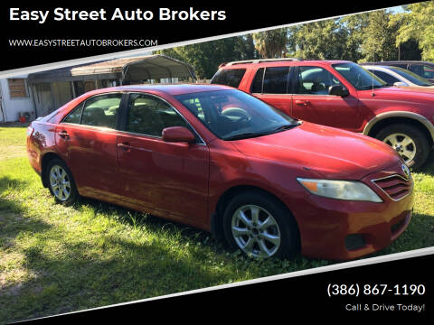 2011 Toyota Camry for sale at Easy Street Auto Brokers in Lake City FL