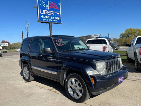 2008 Jeep Liberty for sale at Liberty Auto Sales in Merrill IA