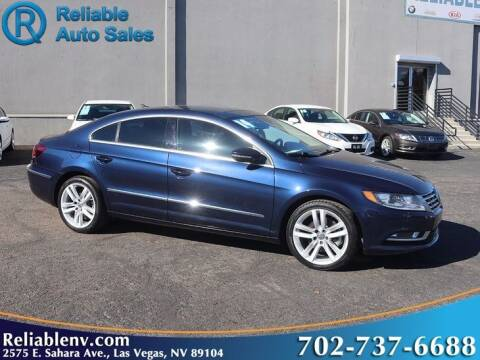 2014 Volkswagen CC for sale at Reliable Auto Sales in Las Vegas NV