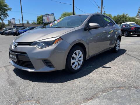 2015 Toyota Corolla for sale at 5 Star Auto Sales in Modesto CA