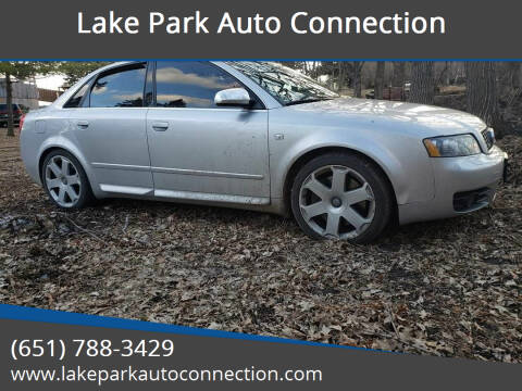 2004 Audi S4 for sale at Lake Park Auto Connection in Lake Park MN