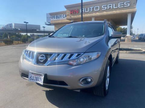 2009 Nissan Murano for sale at RN Auto Sales Inc in Sacramento CA