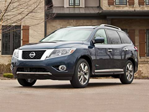 2014 Nissan Pathfinder Hybrid for sale at BARRYS Auto Group Inc in Newport RI