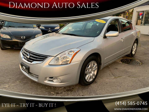 2012 Nissan Altima for sale at Diamond Auto Sales in Milwaukee WI