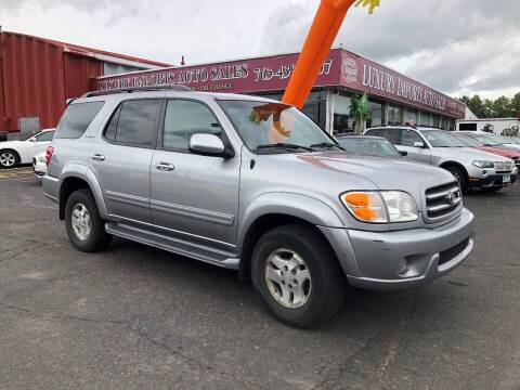 2002 Toyota Sequoia for sale at LUXURY IMPORTS AUTO SALES INC in North Branch MN