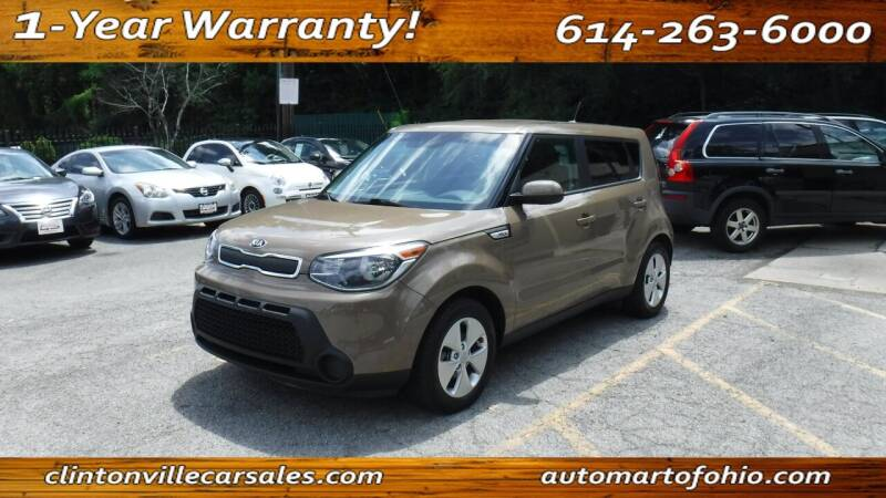 2016 Kia Soul for sale at Clintonville Car Sales - AutoMart of Ohio in Columbus OH