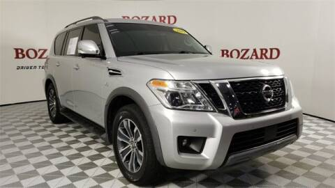 2019 Nissan Armada for sale at BOZARD FORD in Saint Augustine FL