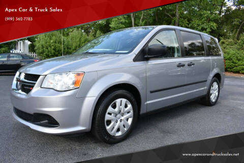 2014 Dodge Grand Caravan for sale at Apex Car & Truck Sales in Apex NC