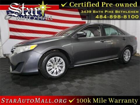 2014 Toyota Camry for sale at STAR AUTO MALL 512 in Bethlehem PA